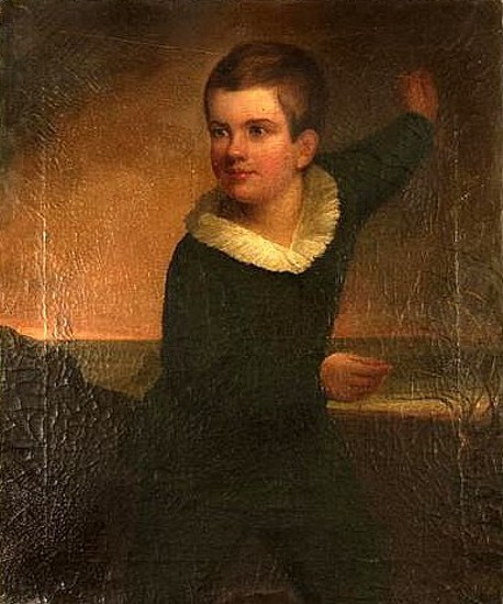 Artist's Son, Alvan Josiah, Flying A Kite