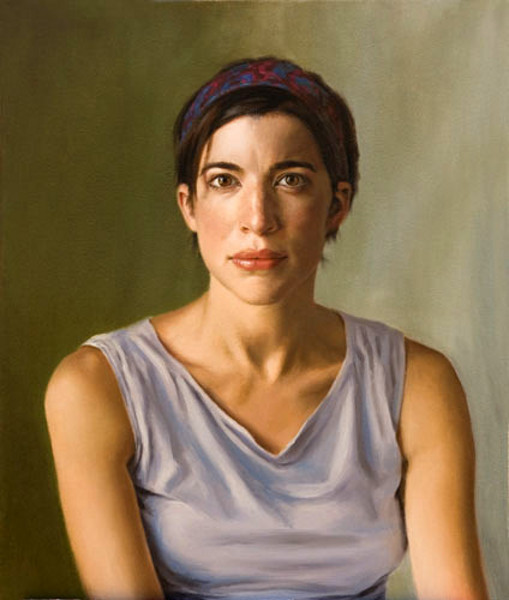Woman With Bandana