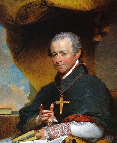 Bishop Jean-Louis Anne Magdelaine Lefebvre de Cheverus