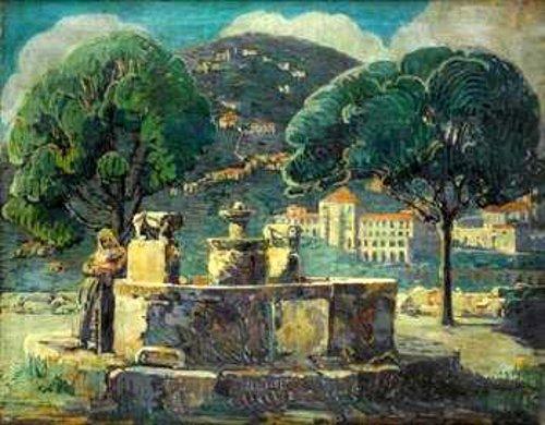 Byzantine Fountain