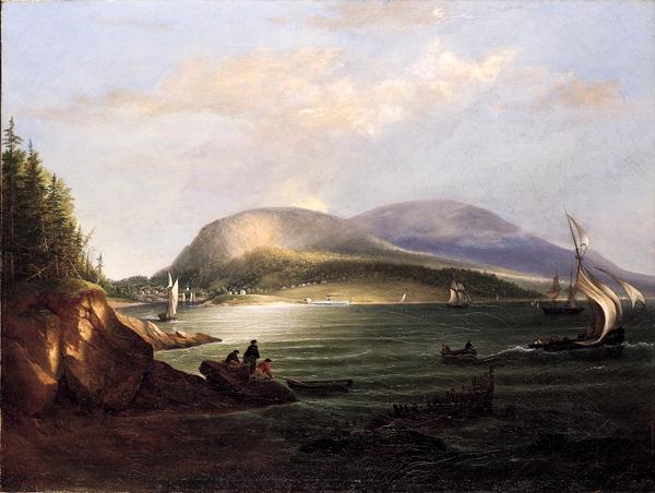 Camden Hills And Harbor