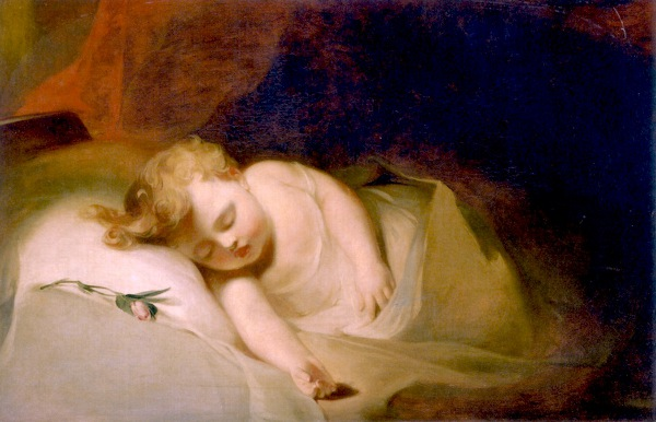 Child Asleep - The Rosebud