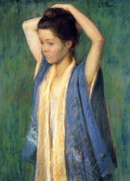 Child In Kimono