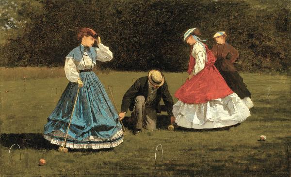 Croquet Scene