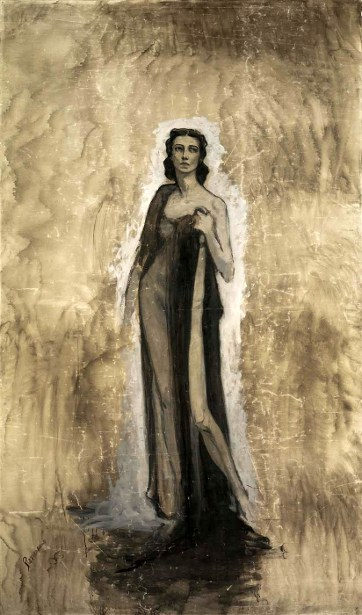Sketch Of Ida Rubinstein