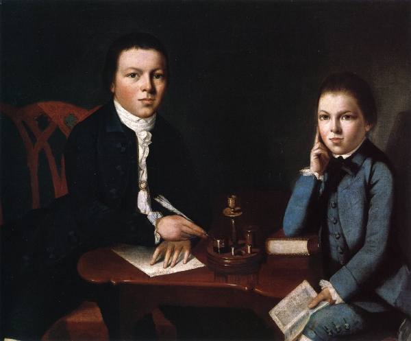 Francis Malbone And His Brother Saunders