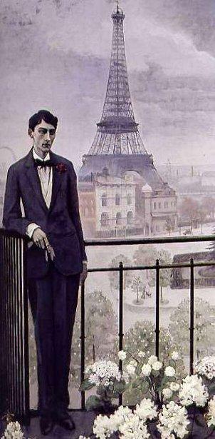 Jean Cocteau à l'époque de la Grand Rue