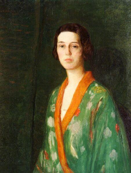 Lady In Kimono