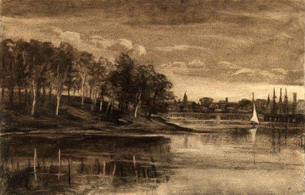 Landscape - Lake Scene