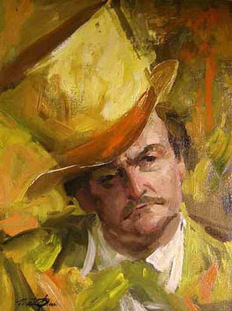 Man In A Yellow Top Hat