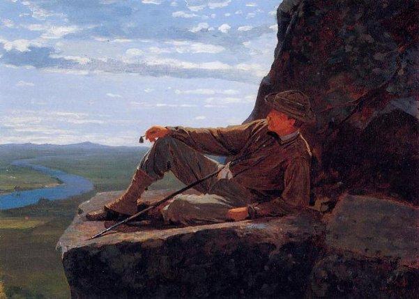 Mountain Climber Resting
