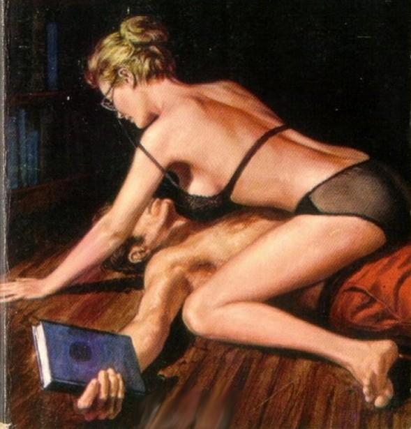 Nympho Librarian