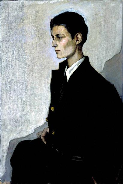 Peter, A Young English Girl (The Artist Hannah Gluckstein aka Gluck)