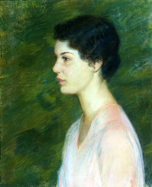 Profile Of A Woman Facing Left