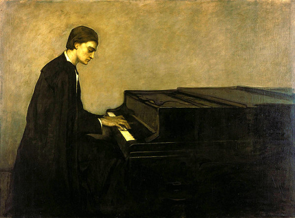 Renata Borgatti At The Piano