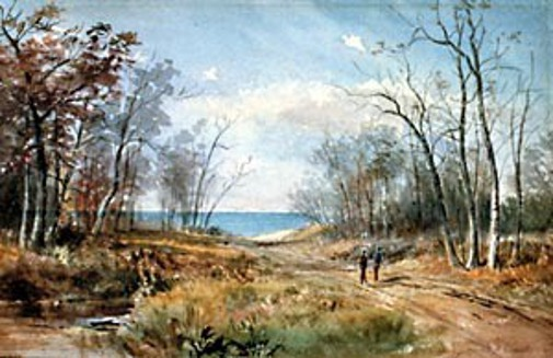 Road To Lake, Rogers Park, Chicago