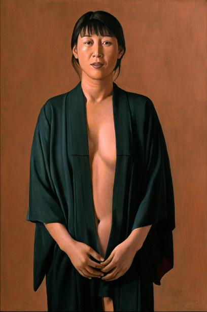 Sophie Li In Kimono