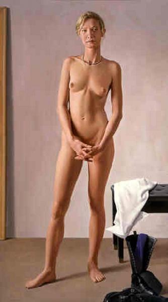 Standing Nude Sky