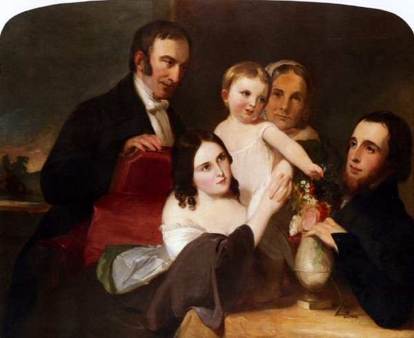 The Alexander Family Group Portrait