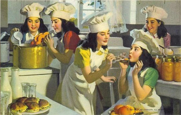 The Dionne Quintuplets - Queens Of The Kitchen