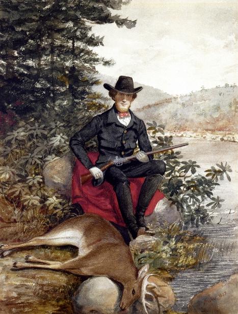 The Hunter, A Self-Portrait