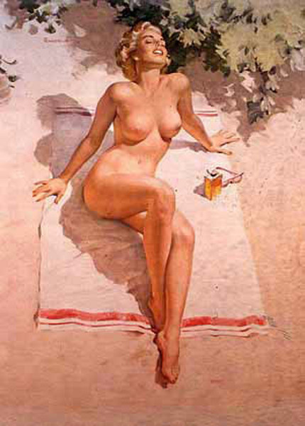 Question naked pin up girls something is