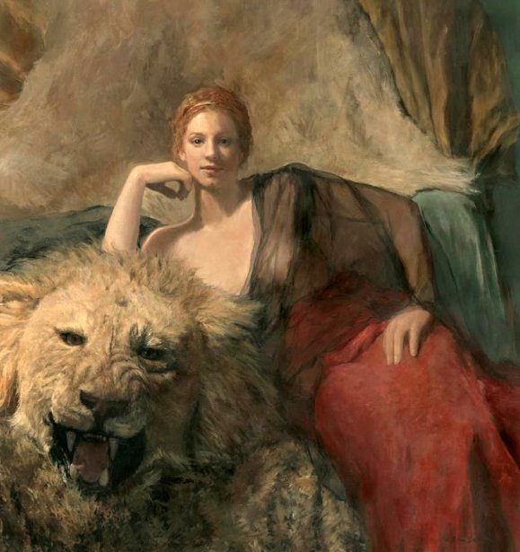 Woman With A Lion - Ode To My Mother, Grace
