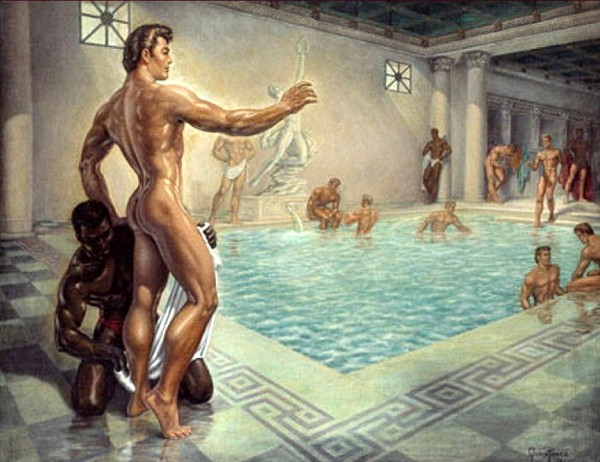 Baths Of Ancient Rome