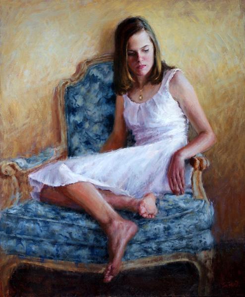 Caroline Seated