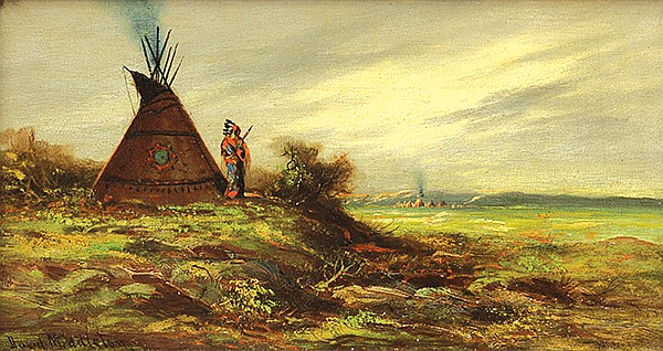 Indian Encampment