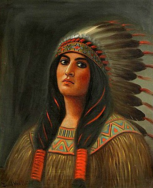 Starlight, A Sioux Woman