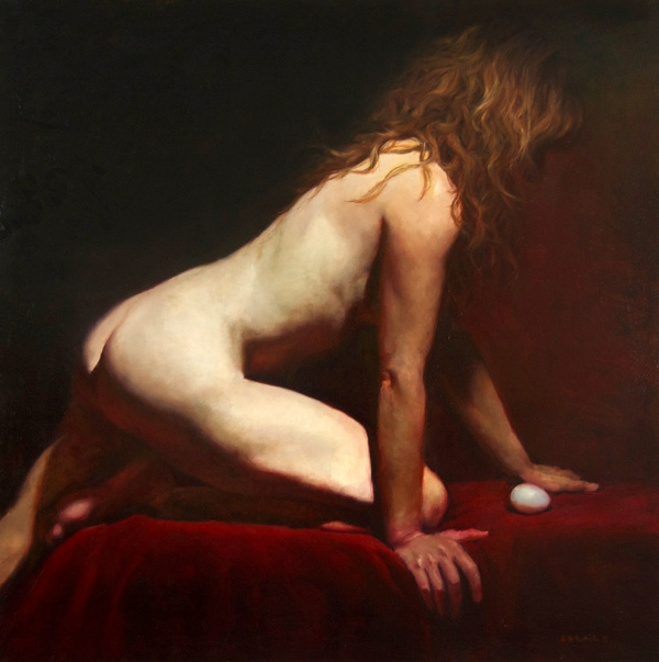 Woman With Egg