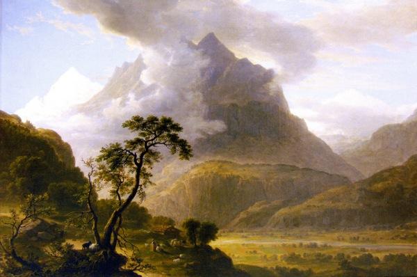 Alpine View, Near Meyringen
