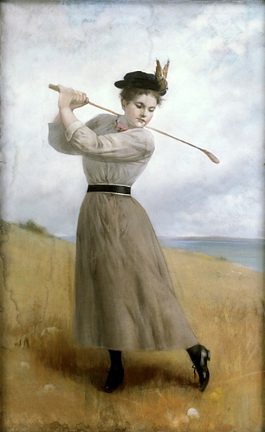 At The Golf Links, Miss A. Moeran