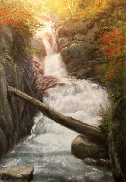 Beecher Cascade In Crawford Notch