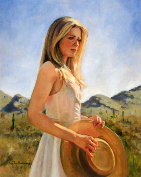 Chloe In The Mountain Preserve