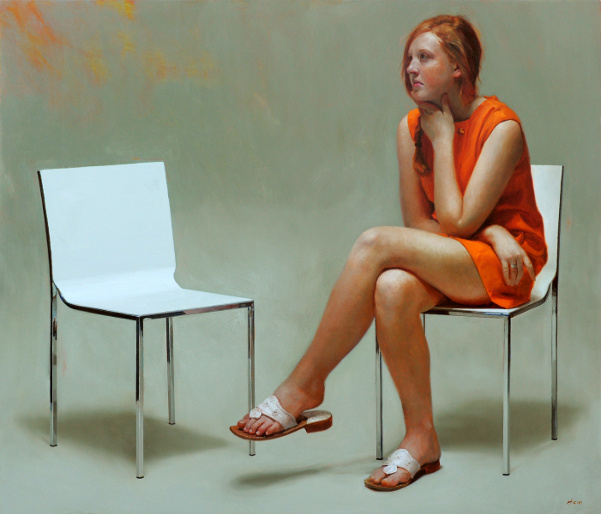 Girl In Orange