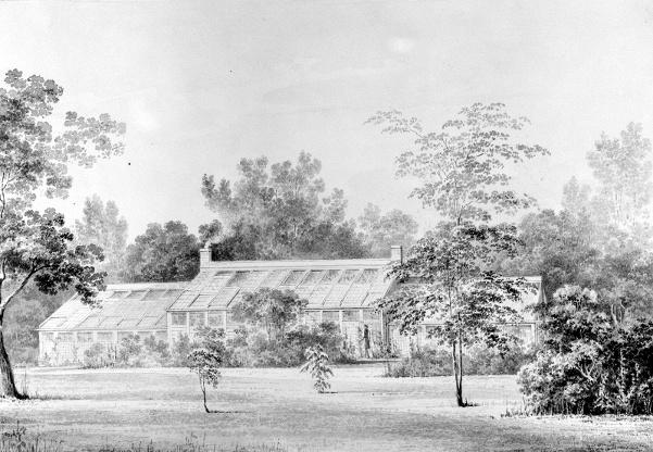 Greenhouse, David Hosack Estate, Hyde Park, New York