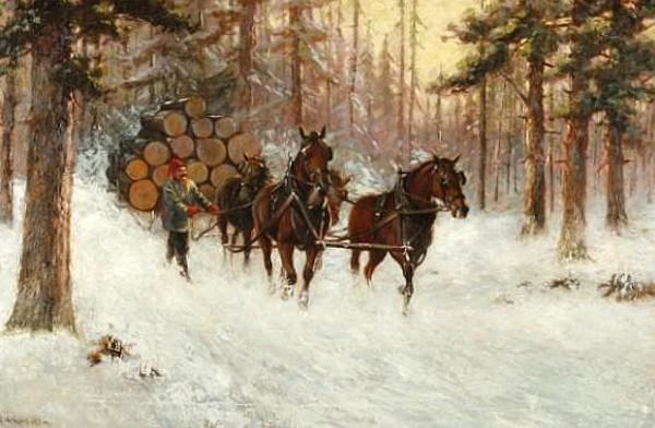 Hauling Timber