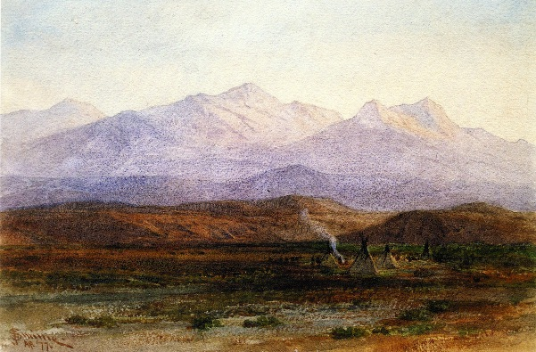 Indian Camp Near Celilo