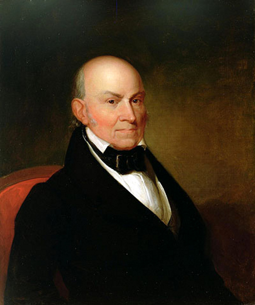 john quincy adams John quincy adams, was born in braintree (now quincy), massachusetts, on july 11, 1767, the first son of the brilliant, patriotic, and strong-willed abigail smith adams and her husband, john adams, then a little-known country lawyer who later became the second president of the united states.