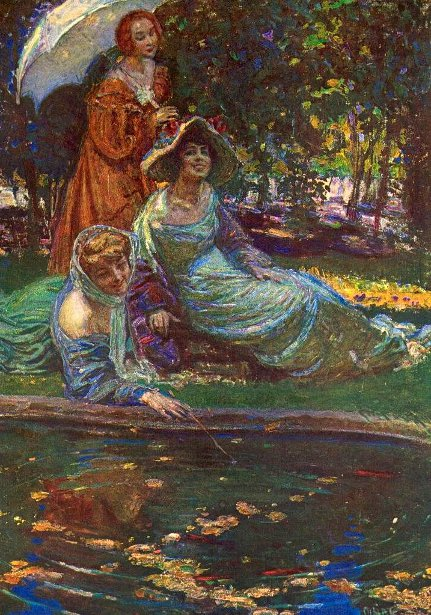 Ladies On A Riverbank