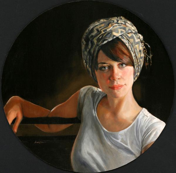Mia In A Turban