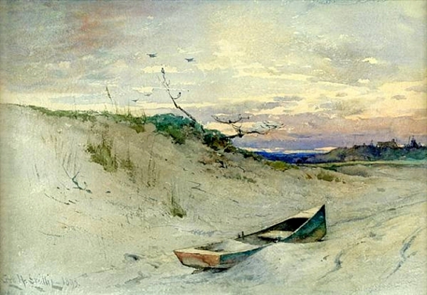 On The Sands At Evening