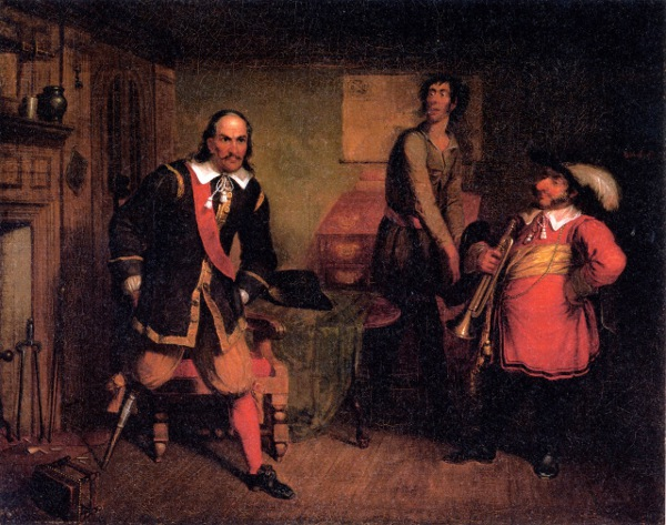 Peter Stuyvesant And The Trumpeter