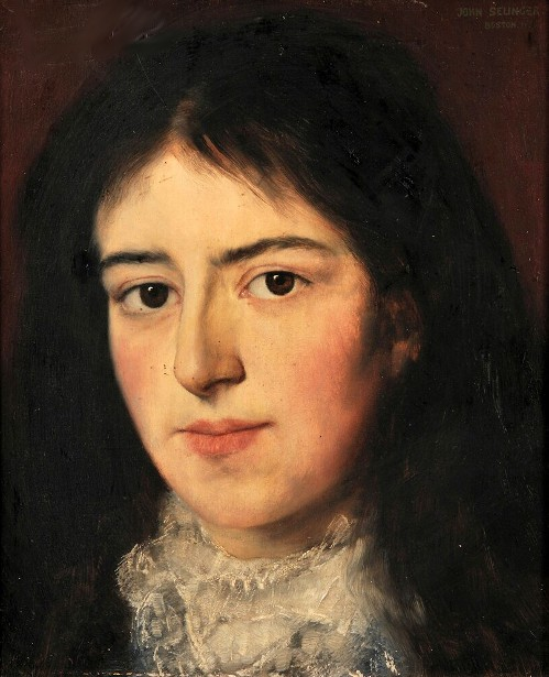 Portrait Head Of A Woman