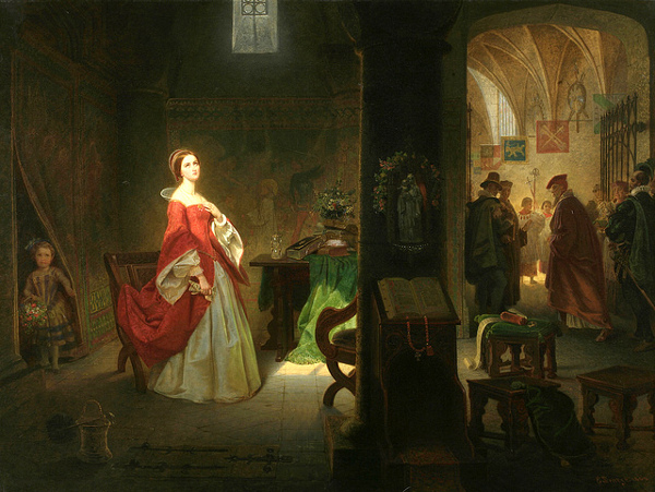 Princess Elizabeth In The Tower