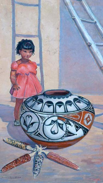 Pueblo Girl