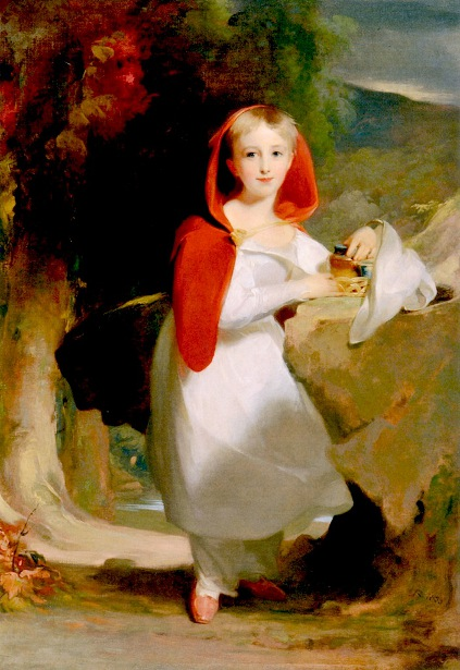 Sarah Esther Hindman as Little Red Riding Hood