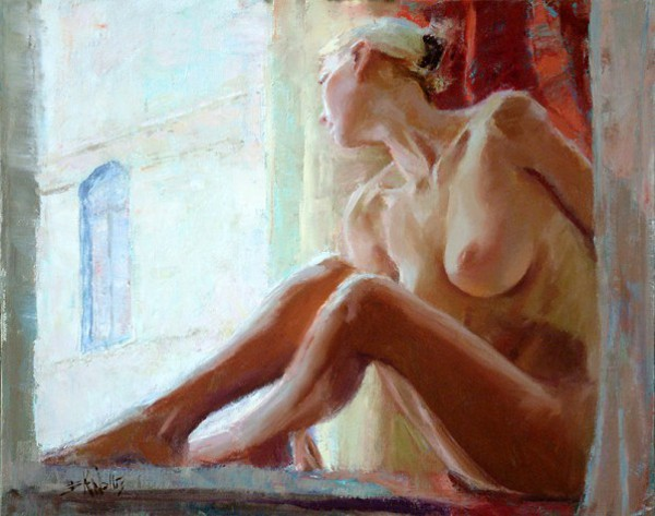 Seated By Window